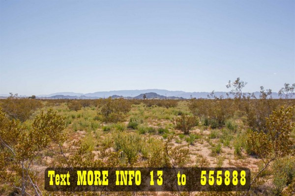 1.96 Acres for Sale in Joshua Tree, CA