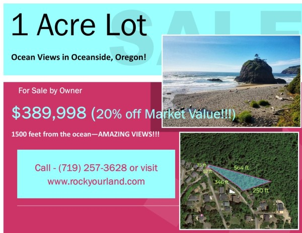 0.99 Acres for Sale in Tillamook, OR