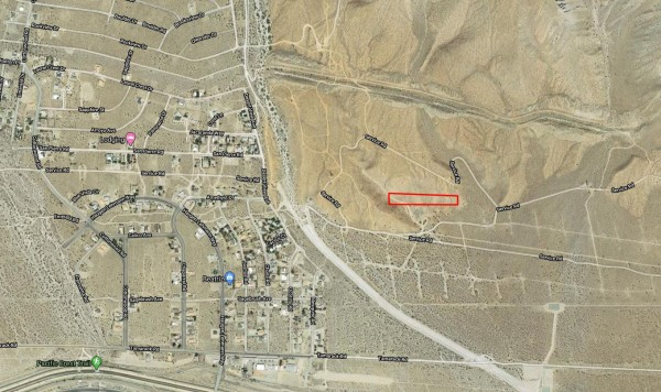 2.5 Acres for Sale in Whitewater, CA