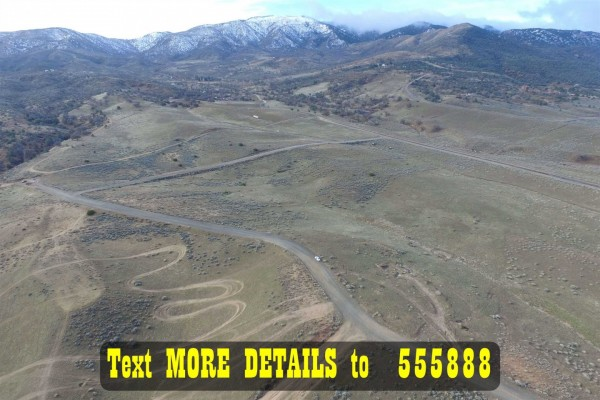 2.96 Acres for Sale in Tehachapi, CA