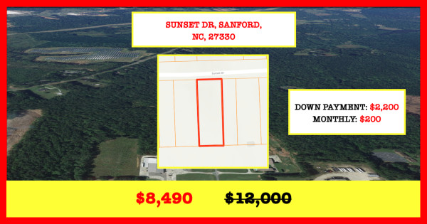 0.37 Acres for Sale in Sanford, NC