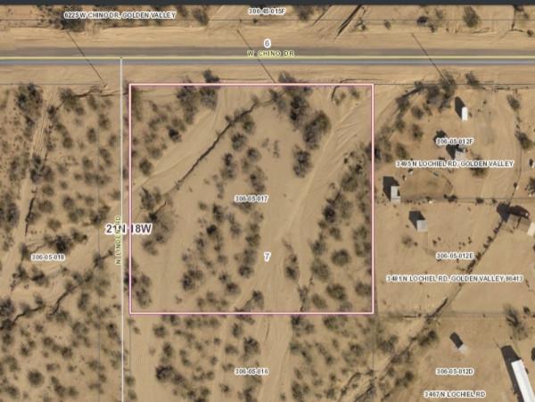 2.07 Acres for Sale in Golden Valley, AZ