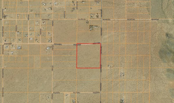 38.78 Acres for Sale in Yucca Valley, CA