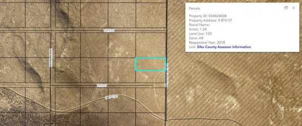 1.24 Acres for Sale in Elko, NV