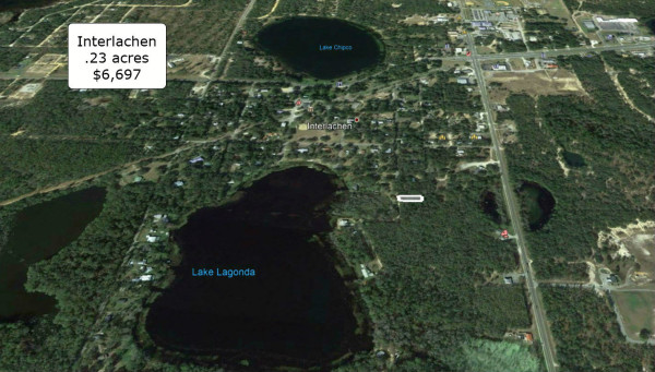 0.23 Acres for Sale in Interlachen, FL