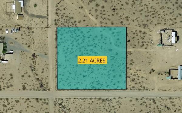 2.21 Acres for Sale in Golden Valley, AZ