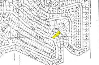 Plat Map Lot 2 Block 6 Cherokee Village 15th