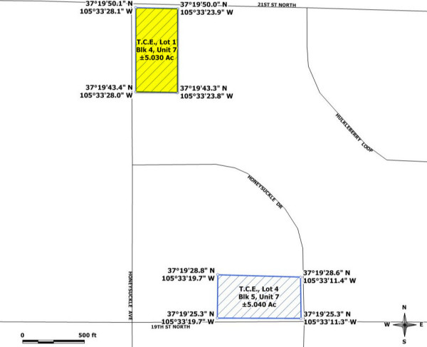 GPS Map - this listing is for T.C.E. Lot 1