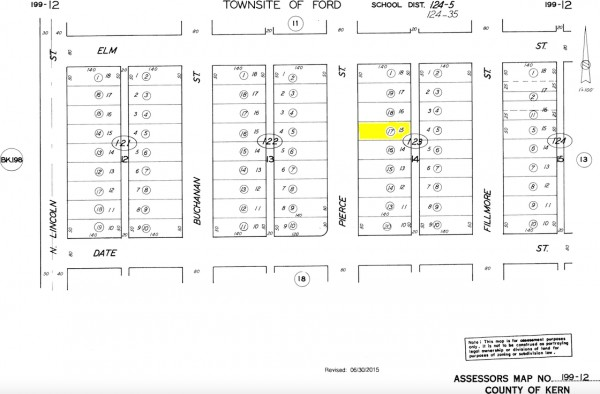 0.16 Acres for Sale in Taft, CA