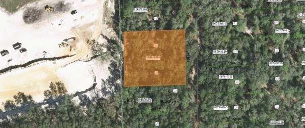 0.64 Acres for Sale in Pomona Park, FL