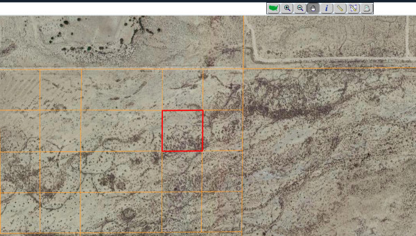 2.5 Acres for Sale in Cantil, CA