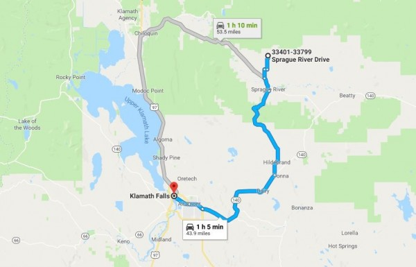 2.4 Acres for Sale in Chiloquin, OR