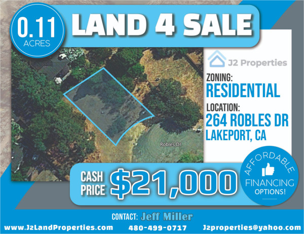 0.11 Acres for Sale in Lakeport, CA