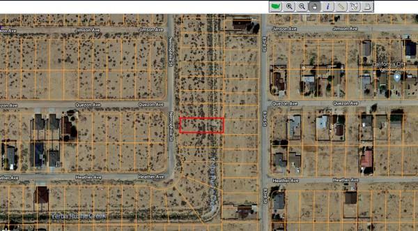 0.25 Acres for Sale in California City, CA