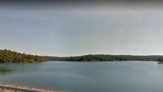 Lake Chanute View Near Lot