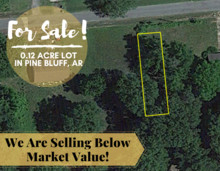 0.11 Acres for Sale in Plumerville, AR