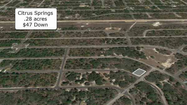 0.28 Acres for Sale in Citrus Springs, FL