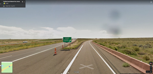Petrifed Forest National Park Exit 311