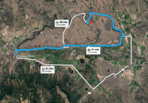 80 Acres for Sale in Sprague River, OR