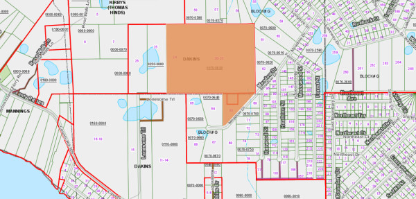 0.75 Acres for Sale in Georgetown, FL