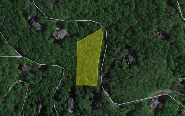 0.93 Acres for Sale in Mills River, NC
