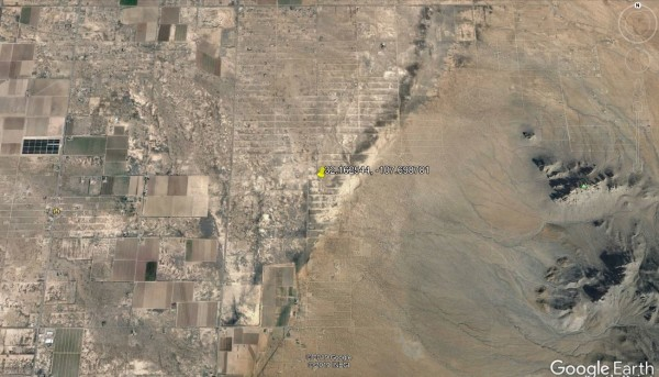 Earth area view