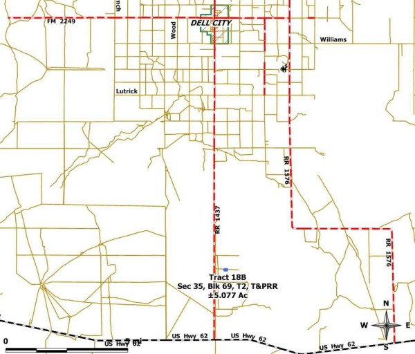 Tract 18B Location Map